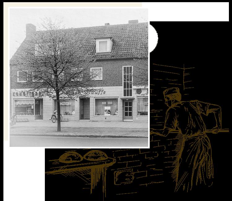 1958 bis 1968 Bäckerei-Konditorei Bohnenkamp - WIR-BACKEN-NOCH-SELBST.com