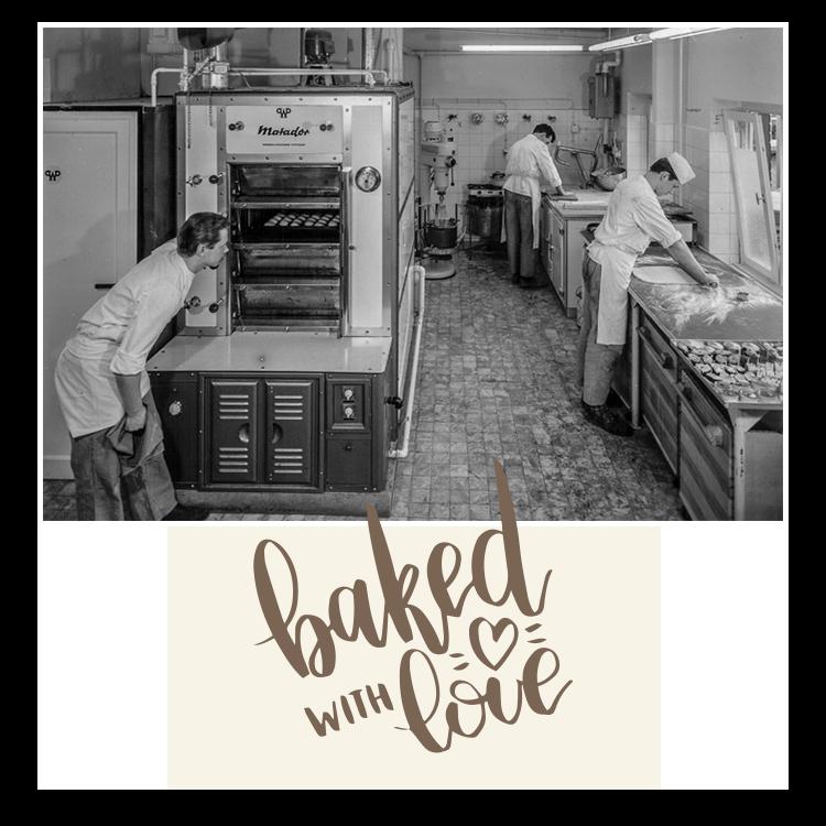 1962 die Backstube Bäckerei-Konditorei Bohnenkamp - WIR-BACKEN-NOCH-SELBST.com