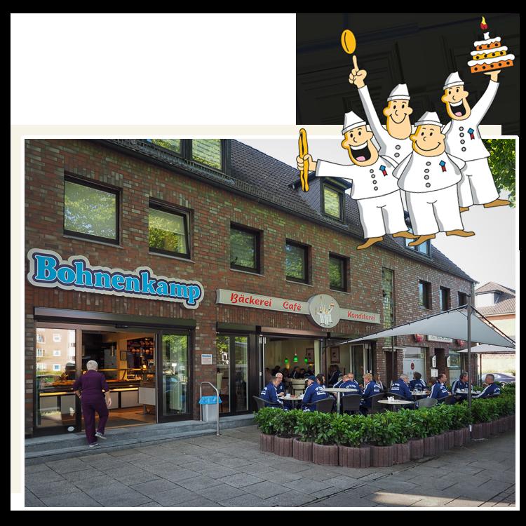 2007 bis heute Bäckerei-Konditorei Bohnenkamp - WIR-BACKEN-NOCH-SELBST.com