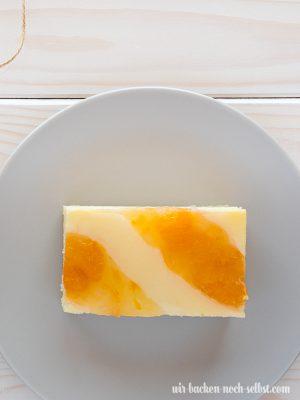 Käseschnitten Mandarine
