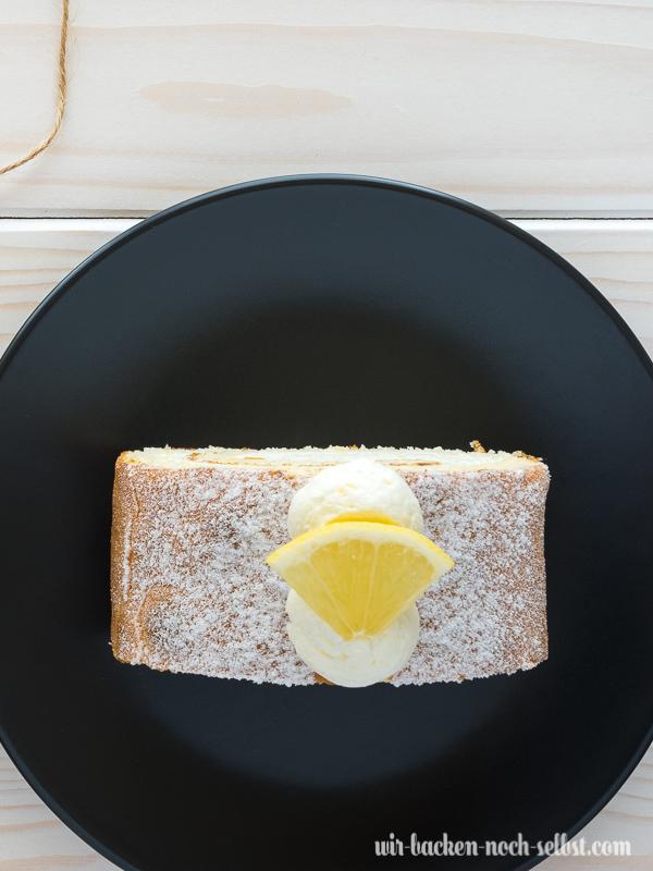 Sahnerollen Zitrone